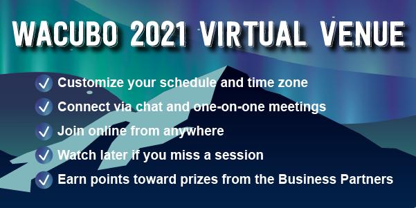 WACUBO Virtual Venue graphic