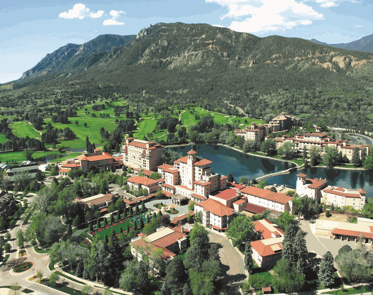 The Broadmoor Aerial View
