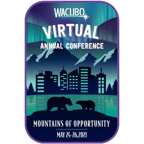 WACUBO 2021 Virtual Annual Conference logo