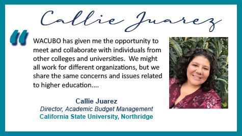 Volunteer Spotlight: Callie Juarez with quote.